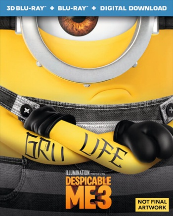 Despicable Me 3 2017 Dual Audio ORG Hindi 480p BluRay 280mb