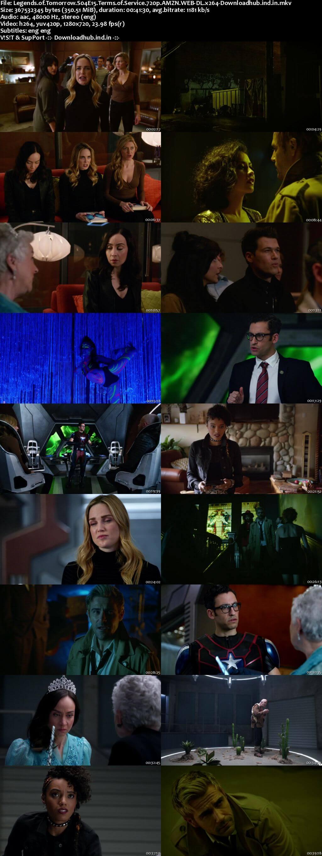 DCs Legends of Tomorrow S04E15 350MB AMZN Web-DL 720p ESubs