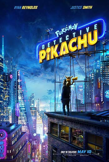 Pokémon Detective Pikachu 2019 Dual Audio Hindi 720p HDRip 800mb