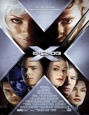 X2 X-Men United 2003 Hindi Dual Audio BRRip Full Movie 720p Download