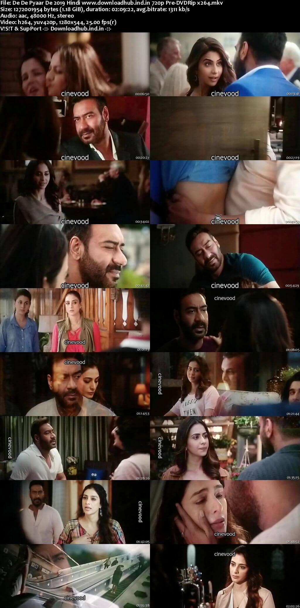 De De Pyaar De 2019 Hindi 720p Pre-DVDRip x264