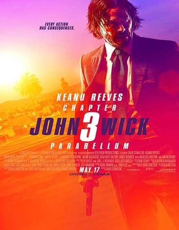 John Wick Chapter 3 Parabellum 2019 Hindi Dual Audio BRRip Full Movie 720p Download