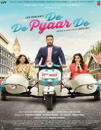 De De Pyaar De 2019 Full Hindi Movie 720p pDVDRip Free Download