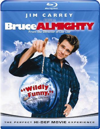 Bruce Almighty 2003 Dual Audio Hindi 720p BluRay 800mb