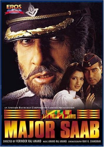 Major Saab 1998 Hindi 720p DVDRip 1.1GB