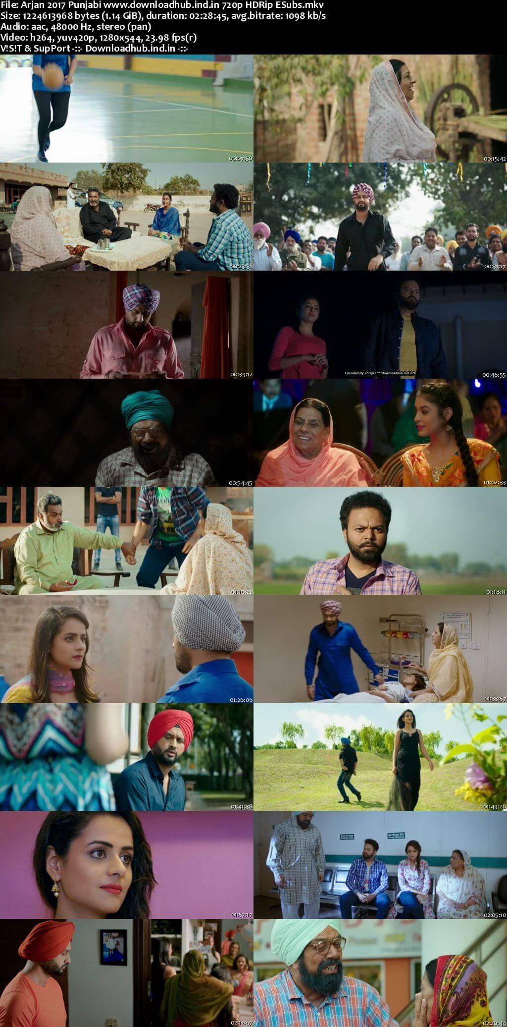Arjan 2017 Punjabi 720p HDRip ESubs