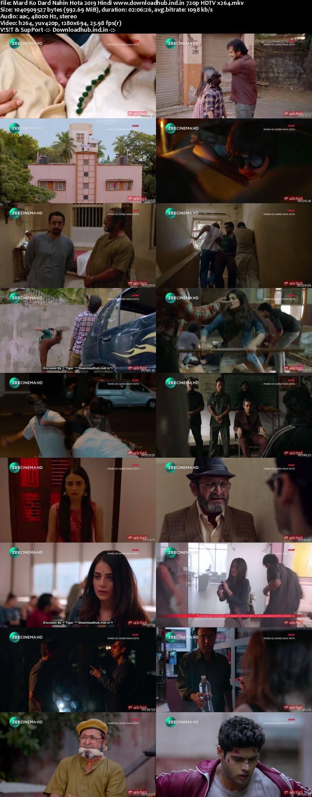 Mard Ko Dard Nahin Hota 2019 Hindi 720p HDTV x264