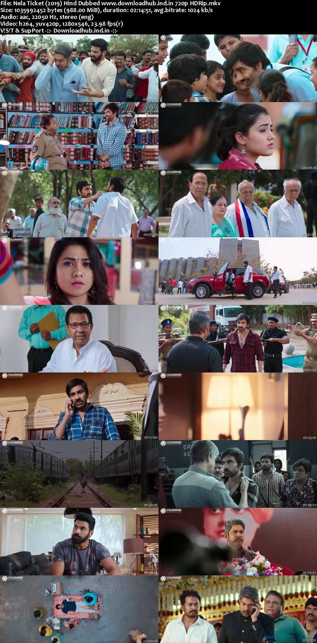 Nela Ticket 2019 Hindi Dubbed 720p HDRip x264