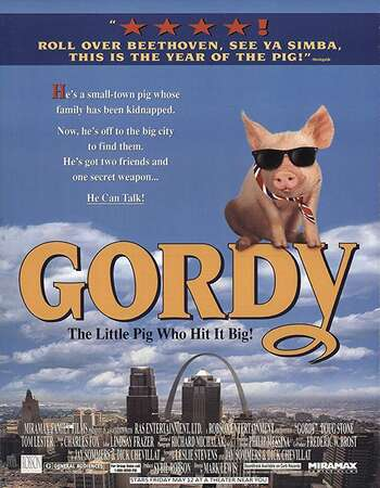 Gordy 1995 Hindi Dual Audio Web-DL Full Movie 300mb Download
