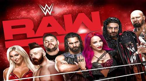 WWE Monday Night Raw 10th August 2020 720p 500MB HDTVRip 480p