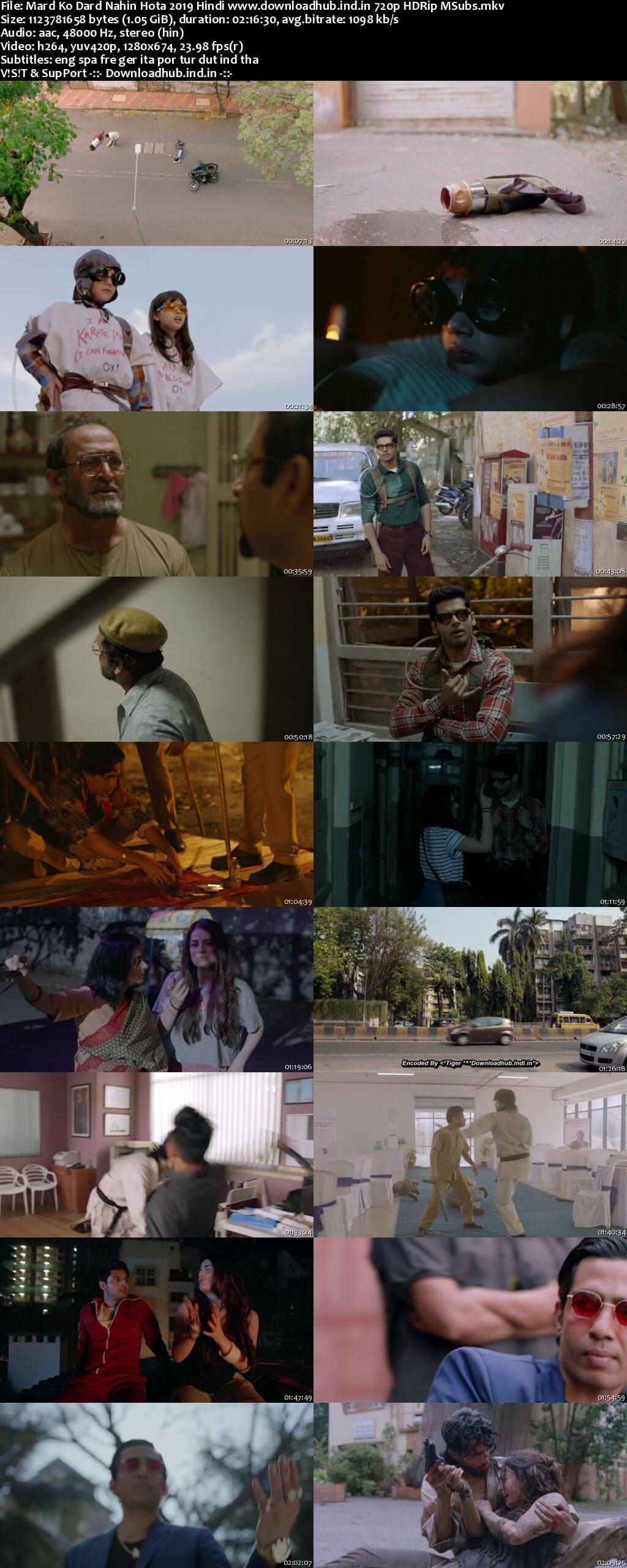 Mard Ko Dard Nahin Hota 2019 Hindi 720p HDRip MSubs