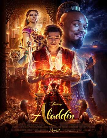 Aladdin 2019 Hindi Dual Audio BRRip Full Movie 720p HEVC Download
