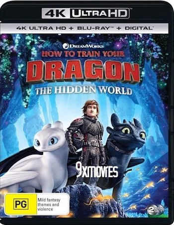 How To Train Your Dragon The Hidden World 2019 Dual Audio ORG Hindi Bluray Movie Download