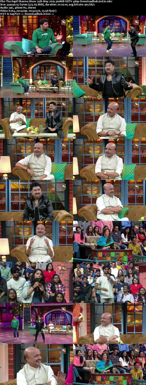 The Kapil Sharma Show 25th May 2019 300MB 480p