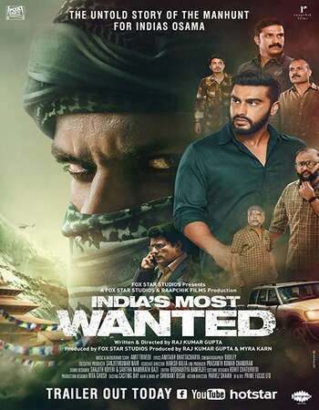 Indias Most Wanted 2019 Hindi 700MB Pre-DVDRip x264