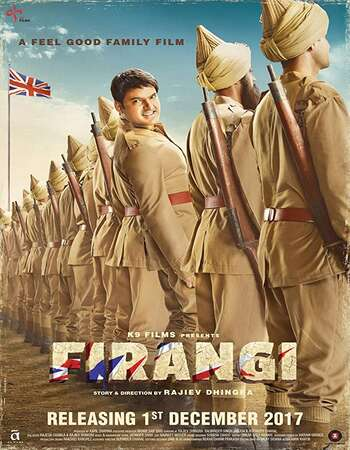 Firangi 2017 Full Hindi Movie 720p HEVC HDTVRip Download