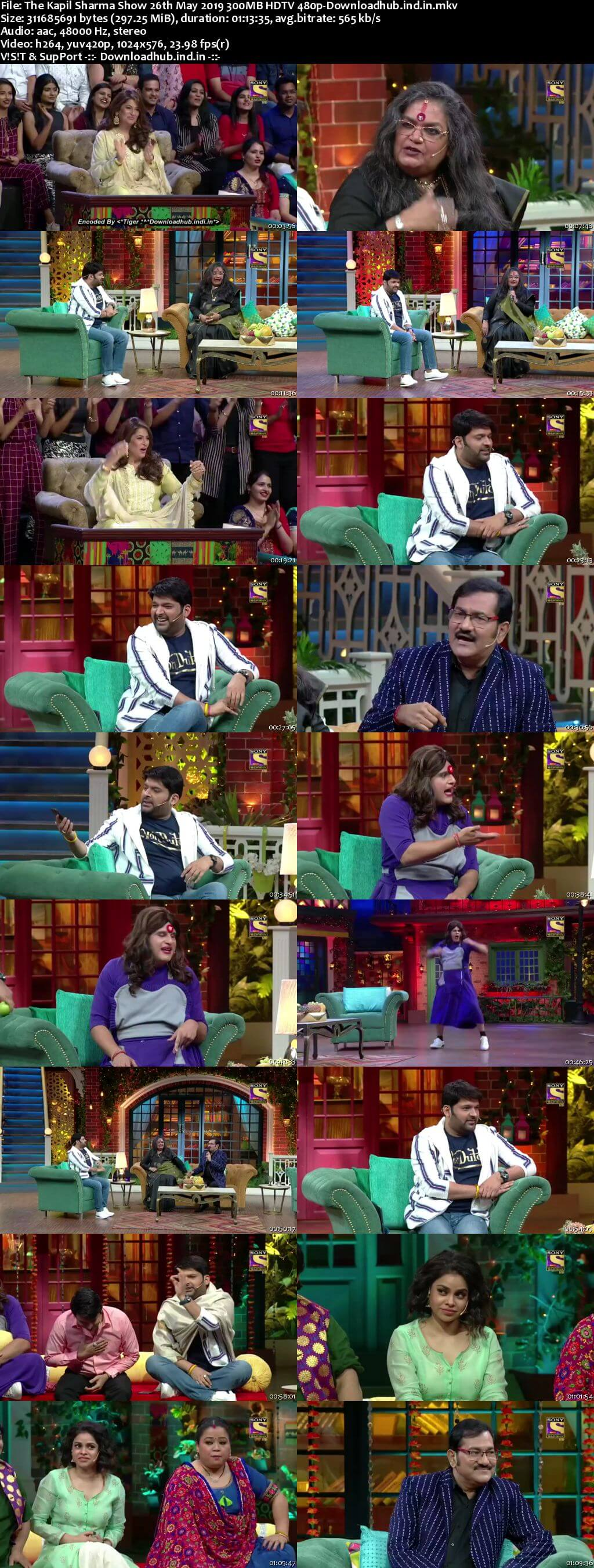 The Kapil Sharma Show 26 May 2019 Episode 44 HDTV 480p