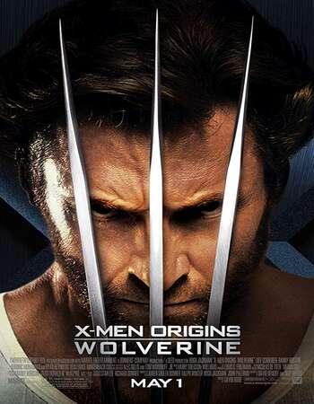 X-Men Origins Wolverine 2009 Hindi Dual Audio BRRip Full Movie 720p Download