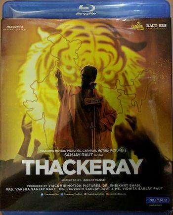 Thackeray 2019 Hindi 720p BluRay 1.1GB