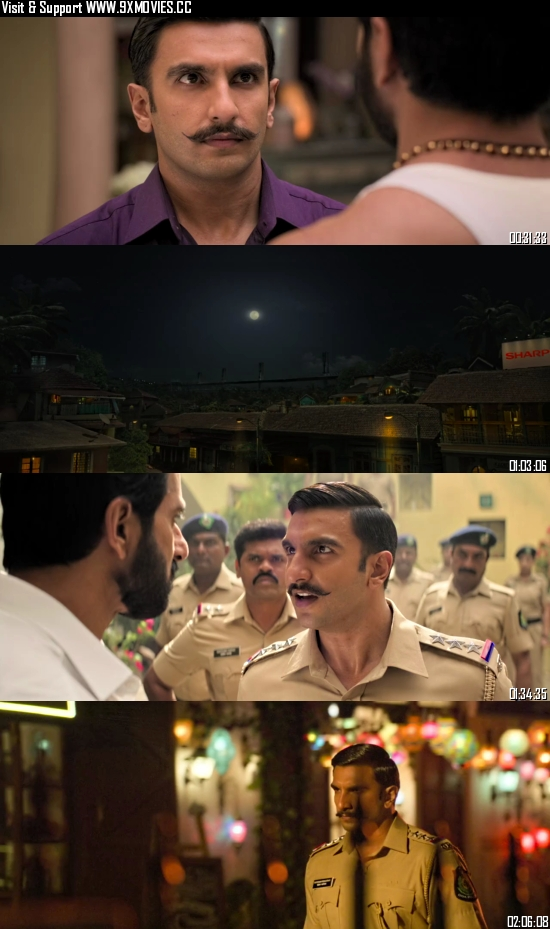Simmba 2019 Hindi 480p BluRay 450MB