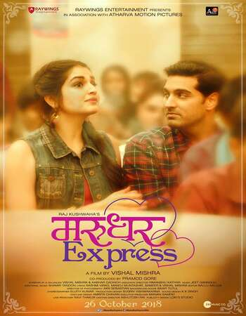 Marudhar Express 2019 Hindi 720p HDRip x264