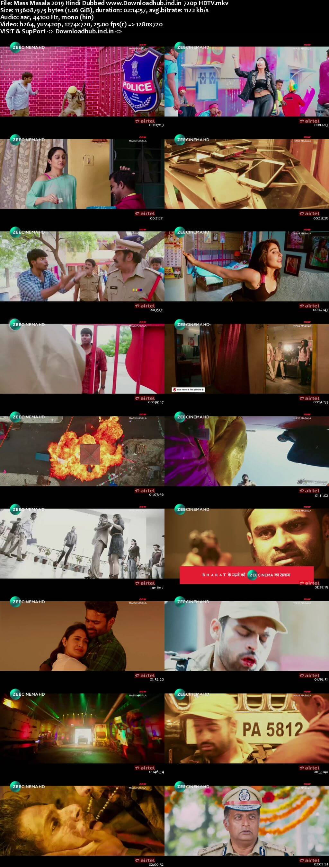 Mass Masala 2019 Hindi Dubbed 720p HDTV x264
