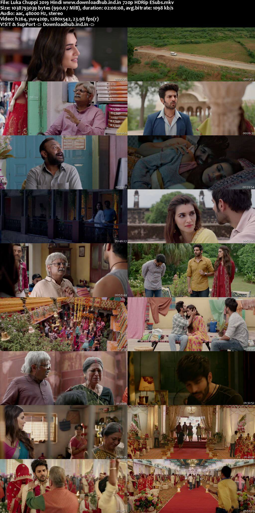 Luka Chuppi 2019 Hindi 720p HDRip ESubs