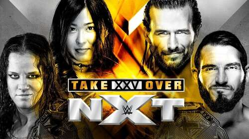 WWE NXT TakeOver XXV 1st June 2019 450MB PPV WEBRip 480p x264 FreeDownload
