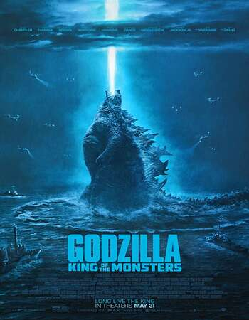 Godzilla King of the Monsters 2019 Hindi Dual Audio BRRip Full Movie 720p HEVC Download