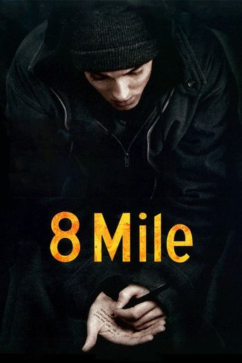 Poster of 8 Mile 2002 Full Hindi Dual Audio Movie Download BluRay 720p