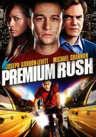 Poster of Premium Rush 2012 Full Hindi Dual Audio Movie Download BluRay 720p