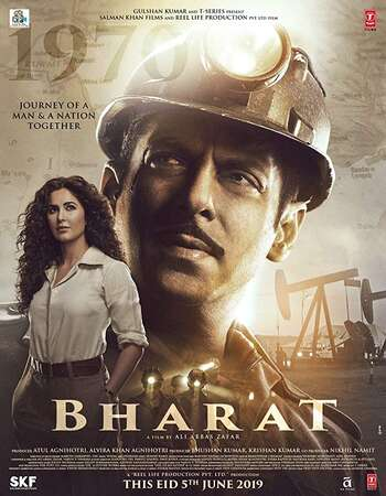 Bharat 2019 Full Hindi Movie 720p pDVDRip Free Download