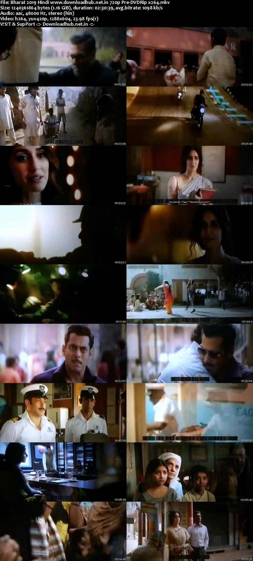 Bharat 2019 Hindi 720p Pre-DVDRip x264