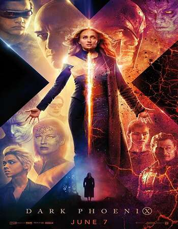Dark Phoenix 2019 Hindi Dual Audio BRRip Full Movie 720p HEVC Download