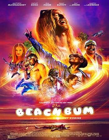 The Beach Bum 2019 English 720p Web-DL 700MB ESubs