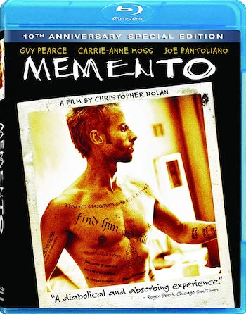 Memento 2000 Dual Audio Hindi 720p BluRay 800mb