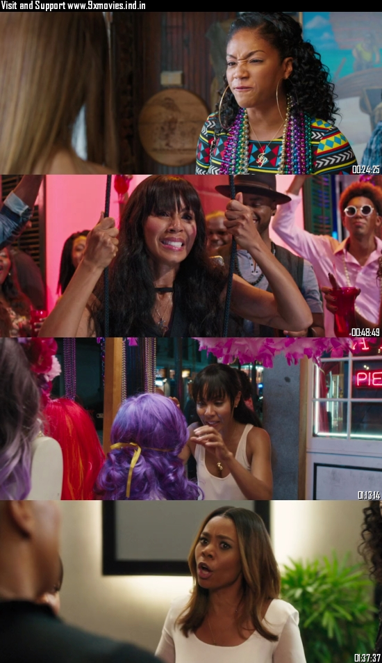Girls Trip 2017 Dual Audio Hindi 720p BluRay 1GB