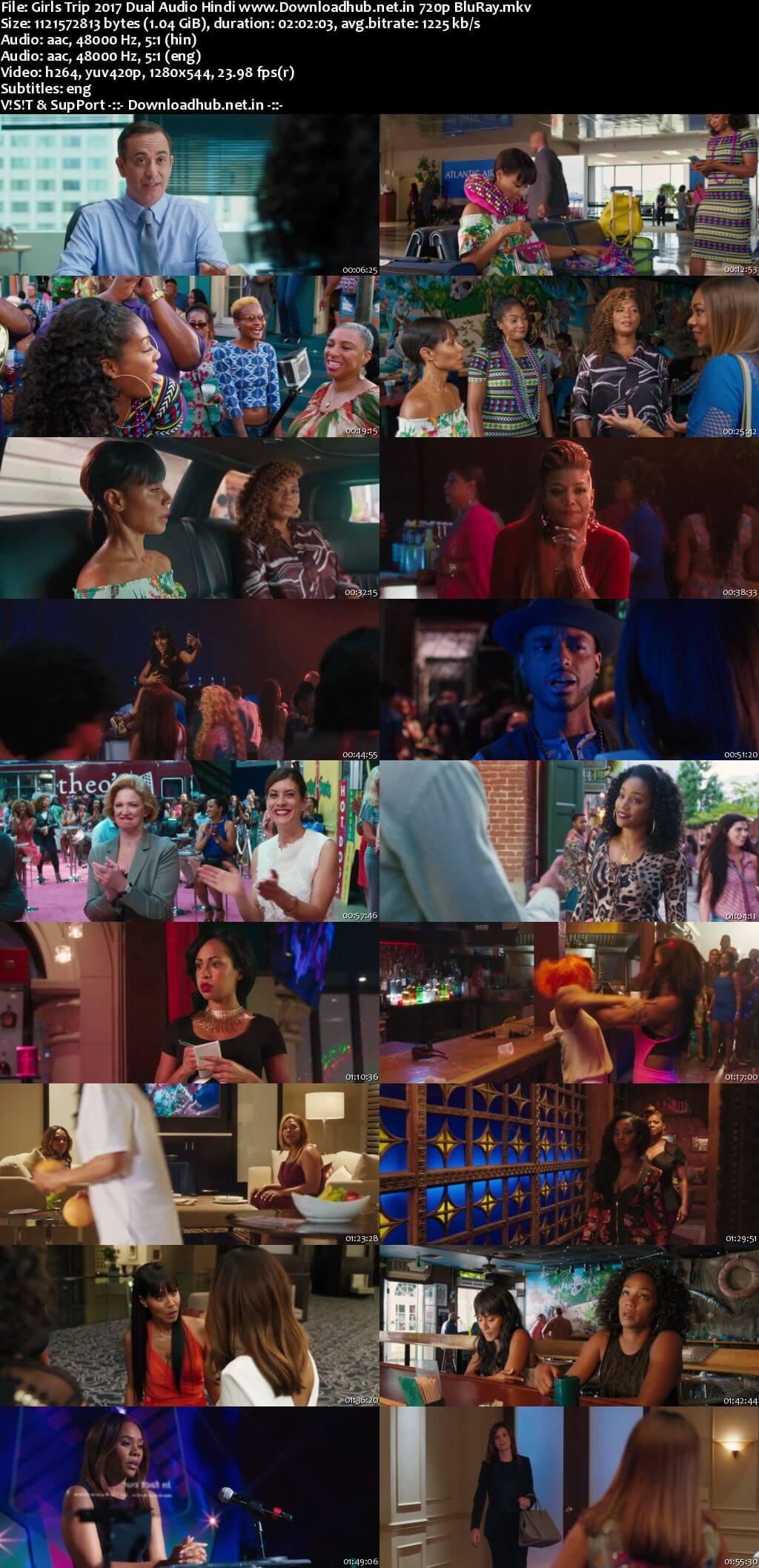 Girls Trip 2017 Hindi Dual Audio 720p BluRay ESubs