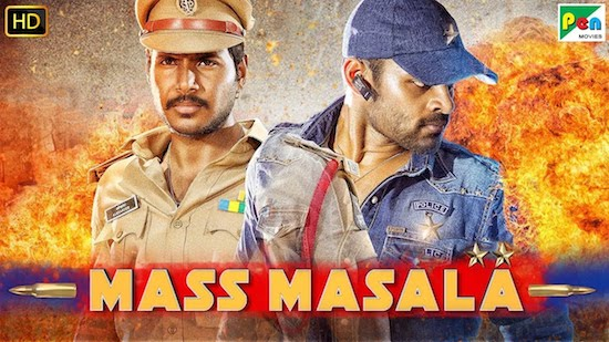 Mass Masala 2019 Hindi Dubbed 720p HDRip 950mb