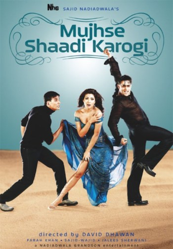 Mujhse Shaadi Karogi 2004 Hindi 720p HDRip 1.1GB