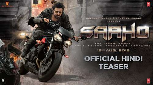 Saaho 2019 Hindi HD Official Teaser 720p