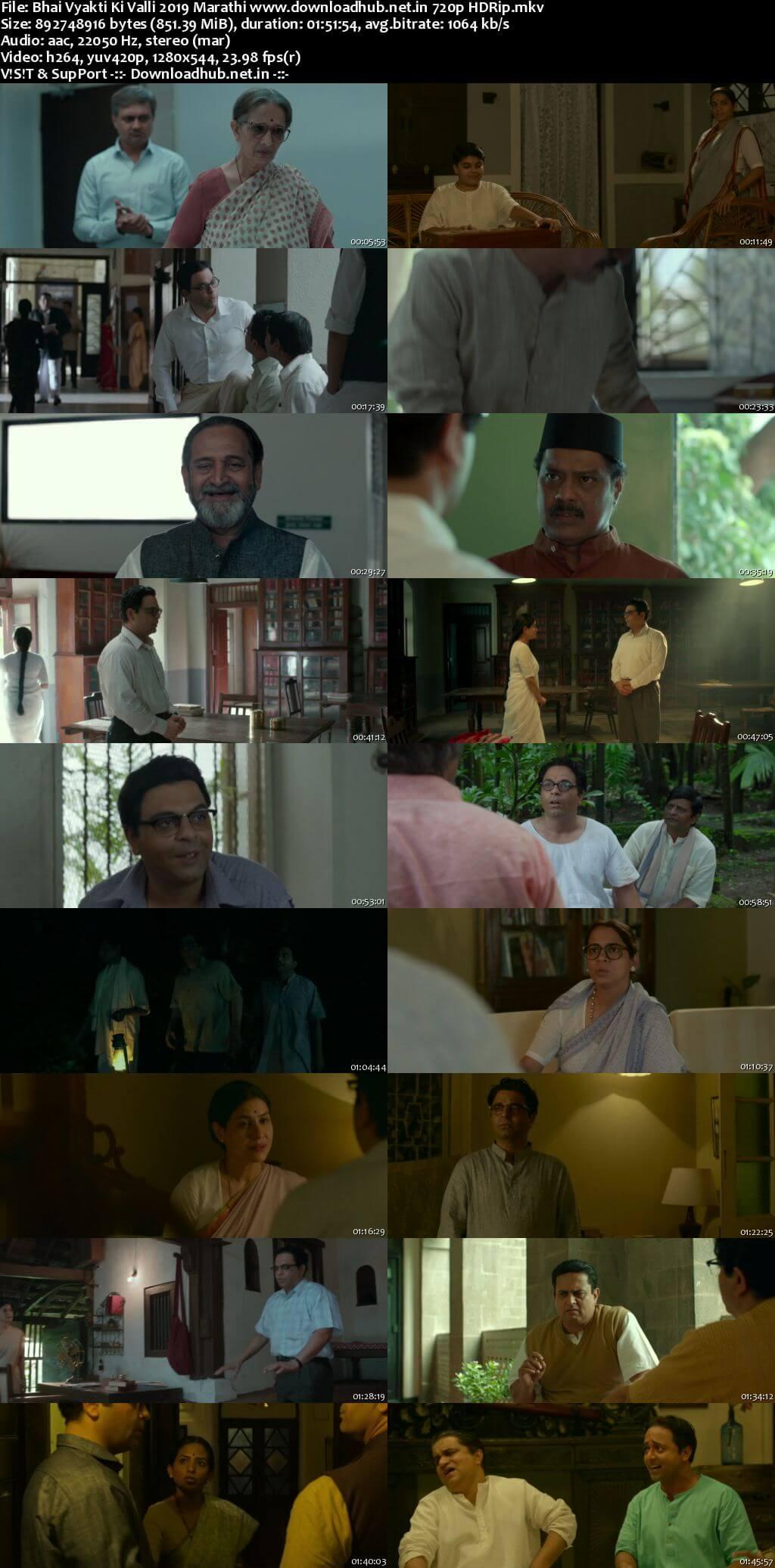 Bhai Vyakti Ki Valli 2019 Marathi 720p HDRip x264