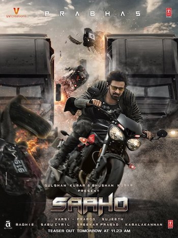 Saaho 2019 Hindi Official Teaser 720p HD Download