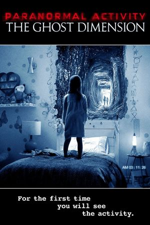 Poster of Paranormal Activity: The Ghost Dimension 2015 Full Hindi Dual Audio Movie Download BluRay 720p