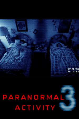 Poster of Paranormal Activity 3 2011 Full Hindi Dual Audio Movie Download BluRay 720p