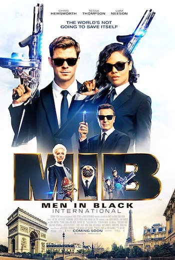 Men in Black International 2019 Dual Audio Hindi 720p HDCAM 990MB