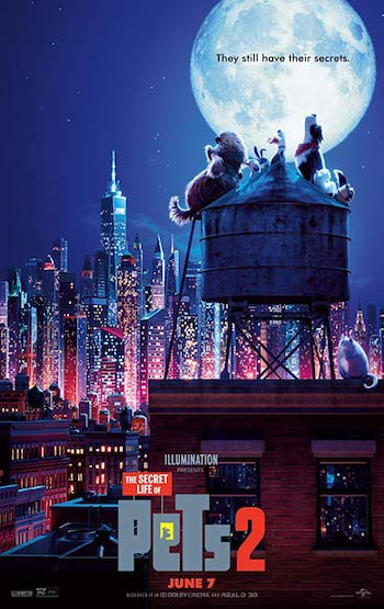 The Secret Life of Pets 2 (2019) Dual Audio Hindi 720p DVDScr 750mb