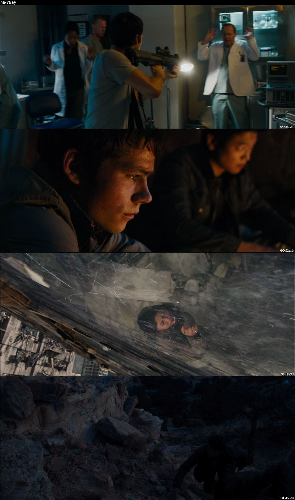 Screen Shoot of Maze Runner: The Scorch Trials 2015 Full Hindi Dual Audio Movie Download BluRay 720p
