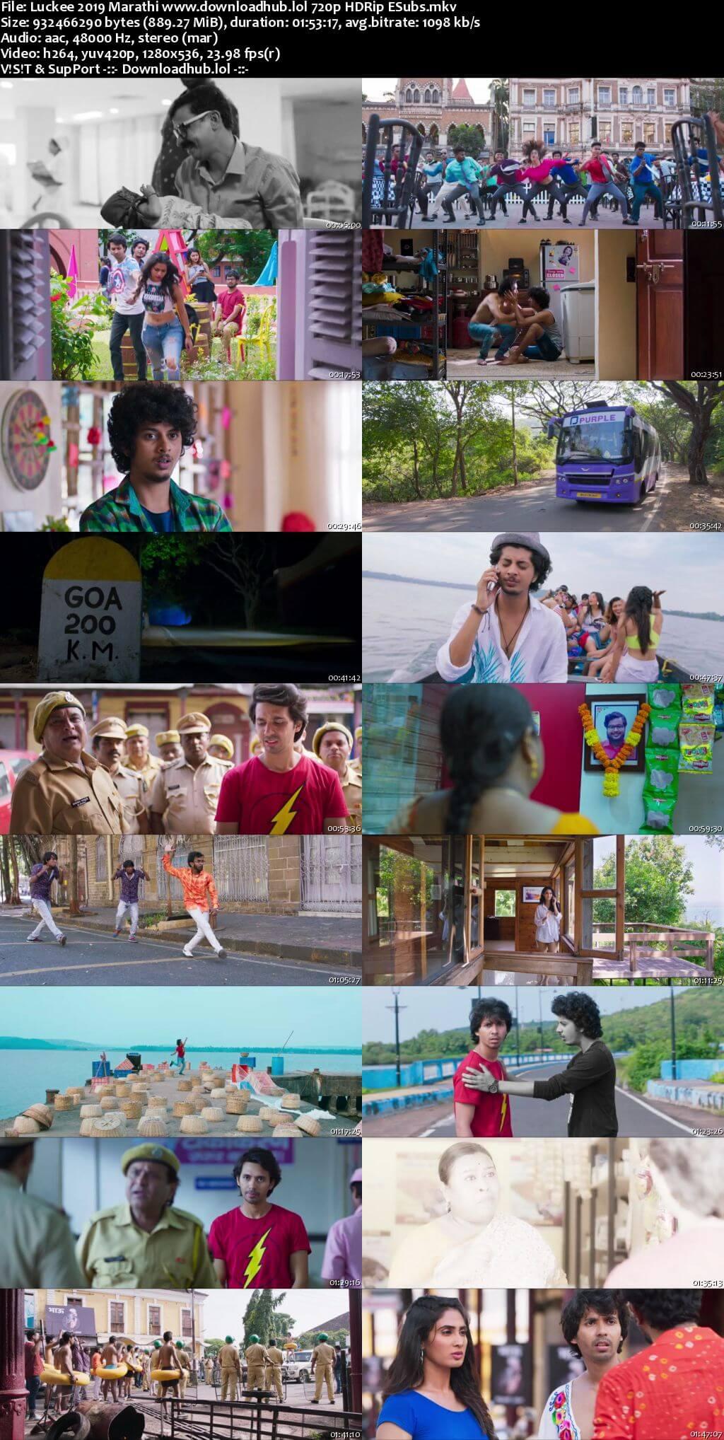 Luckee 2019 Marathi 720p HDRip ESubs