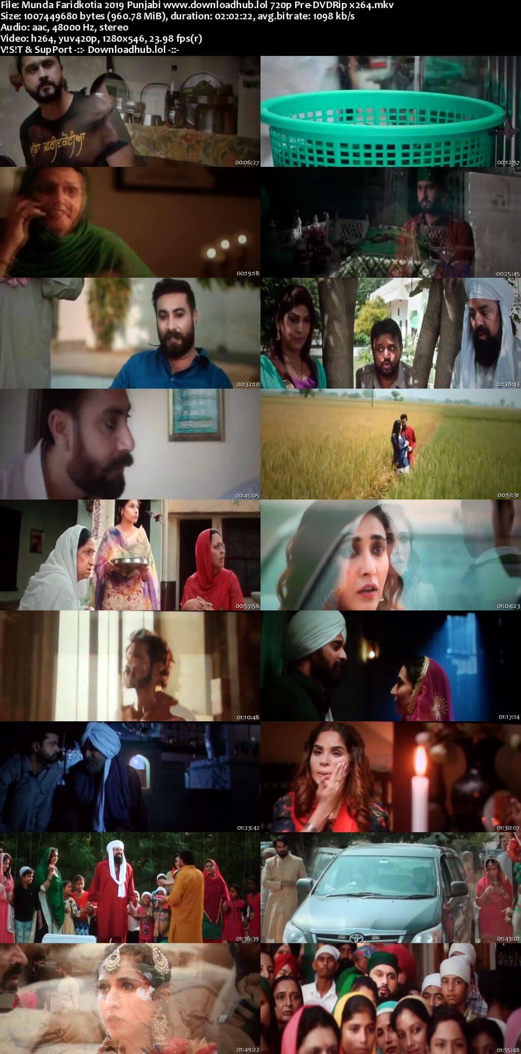 Munda Faridkotia 2019 Punjabi 720p Pre-DVDRip x264